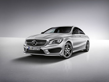 Mercedes-Benz Accessories for the CLA: AMG bodystyling - The AMG bodystyling components – front apron, side skirts and rear apron – are designed for optimum dynamism.