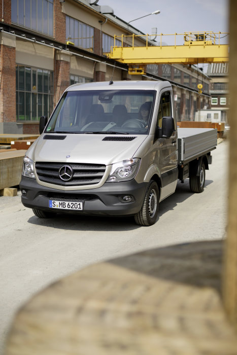 Mercedes-Benz Sprinter 2013, Flatbed, exterior