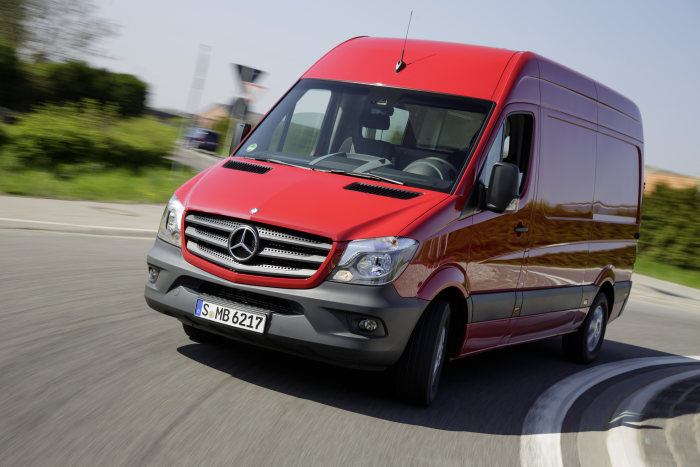 Mercedes-Benz Sprinter 2013, Panel van, exterior