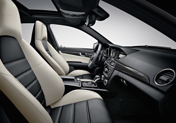 Mercedes-Benz C-Class, C 63 AMG, interior, model year 2011