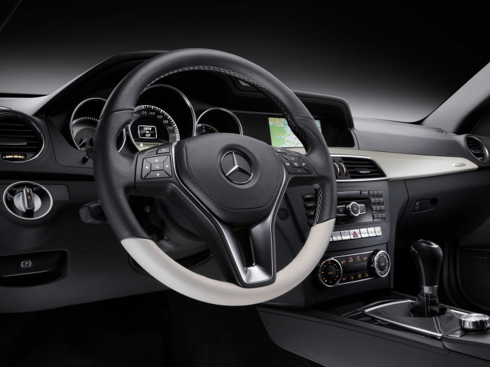 Mercedes-Benz C-Class Coupé, C 250 CDI, interior