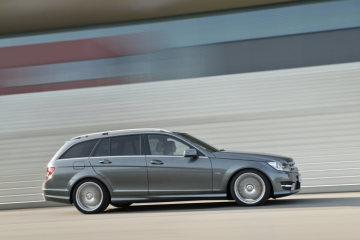 Mercedes-Benz C-Class estate, C 300 CDI 4MATIC BlueEFFICIENCY with AMG sports package, model year 2011