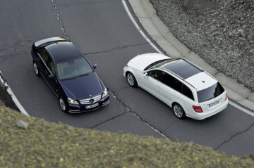 Mercedes-Benz C-Class model year 2011, sedan and estate