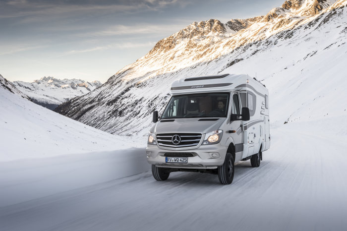 Hymer ML-T auf Basis Mercedes-Benz Sprinter 4x4 – Exterieur