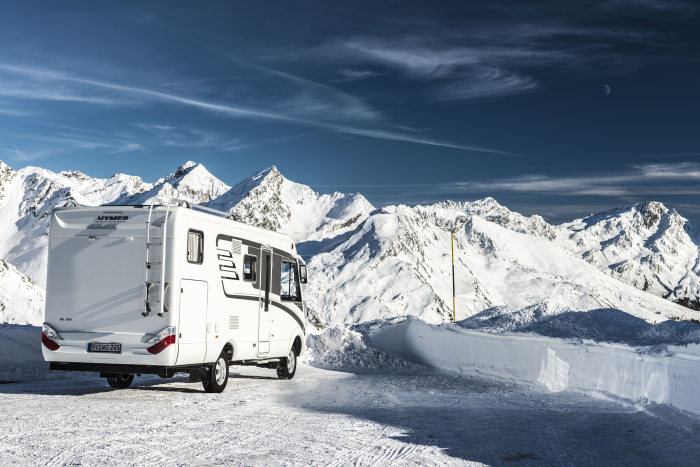 Hymer ML-I auf Basis Mercedes-Benz Sprinter 4x4 – Exterieur