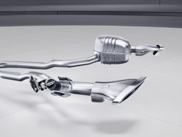 Mercedes-Benz SLC; sports exhaust System