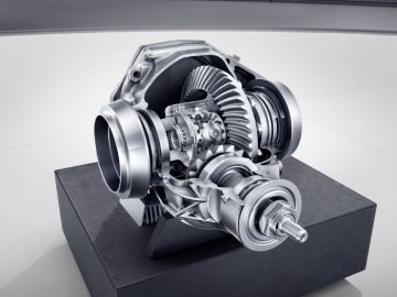 Mercedes-AMG SLC 43; AMG mechanical rear-axle limited-slip differential