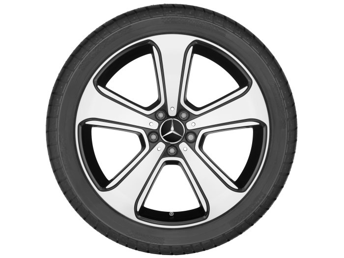 Mercedes-Benz light alloy wheels: 5-spoke wheel, 50.8 cm (20 inch) for the GLC-Class
