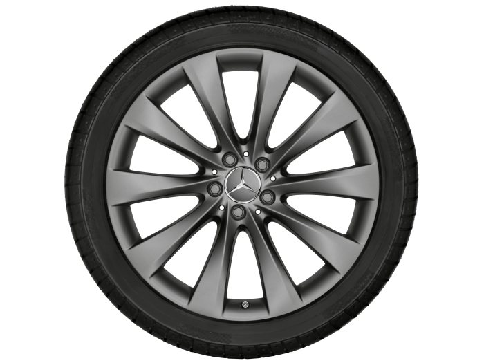 Mercedes-Benz light alloy wheels: 10-spoke wheel, 50.8 cm (20 inch) for the S-Class