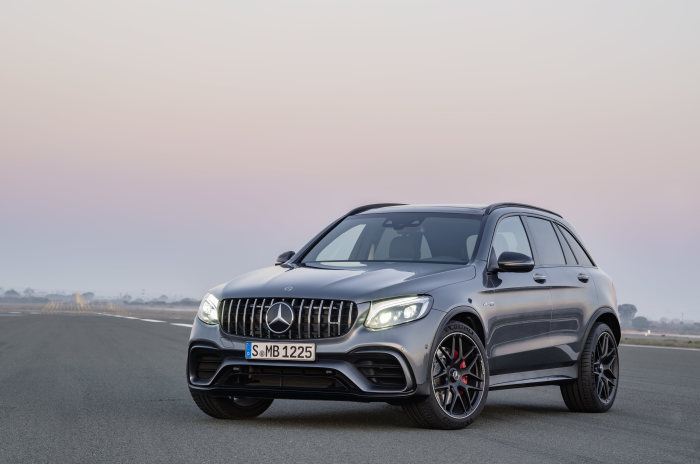 Mercedes-AMG GLC 63 S 4MATIC+, selenitgrau metallic