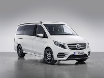 Mercedes-Benz Marco Polo HORIZON 4MATIC on V-Class base – Exterior, mountain crystal white metallic