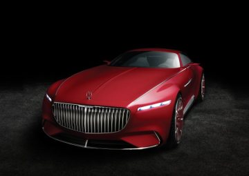 Vision Mercedes-Maybach 6: Study of an ultra-stylish luxury-class coupé; 2016