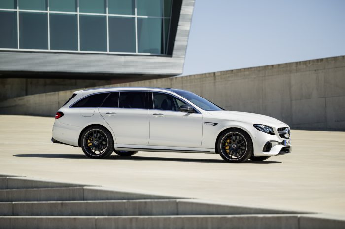 Mercedes-AMG E 63 S 4MATIC+ Estate, diamond white