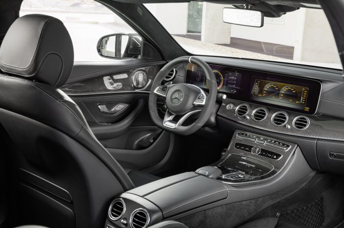 Mercedes-AMG E 63 S 4MATIC+ Estate, diamond white,  Interior: Nappa leather black