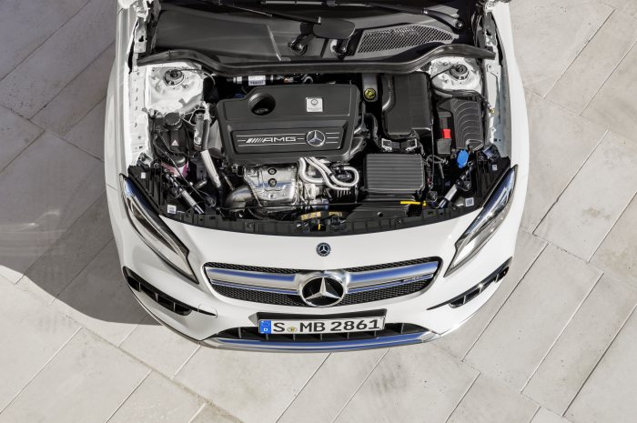 Mercedes-AMG GLA 45 4MATIC, engine, 280 kW (381 PS)