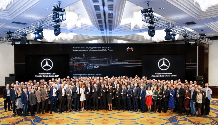 Mercedes-Benz Procurement held supplier forum in Russia to strengthen the local network.