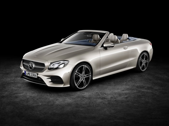 Mercedes-Benz light alloy wheels: 5-twin-spoke wheel, 48.3 cm (19 inch) on E-Class Cabrio