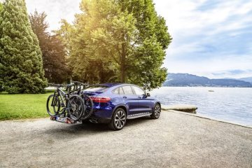 Mercedes-Benz Rear-mounted Bicycle Carrier; Mercedes-Benz Trekking Bike Aventura; Mercedes-Benz Mountain Bike Raven