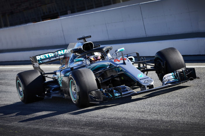 F1, Tests, 2018, Mercedes-AMG Petronas Motorsport, Barcelona