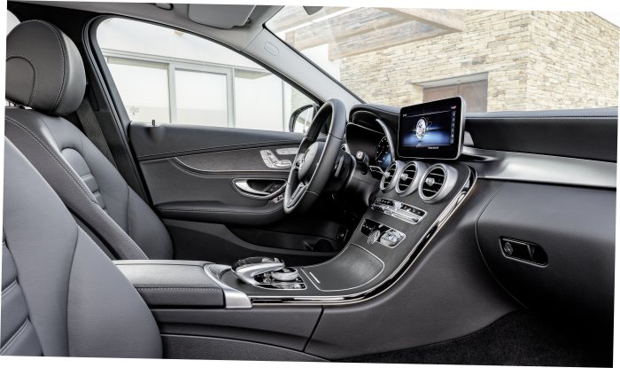 D485675 World premiere of the new C-Class Saloon and Estate