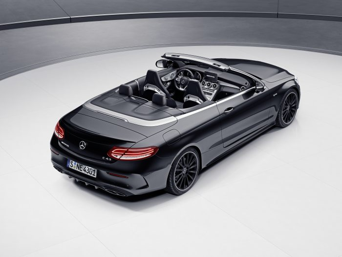 Mercedes-AMG C 43 4MATIC Cabriolet Night Edition, obsidianschwarz