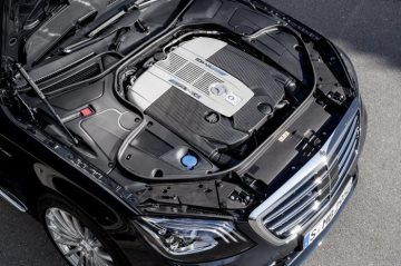 Mercedes-AMG S 65, V12-biturbo engine