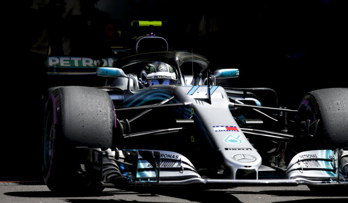 Formula One - Mercedes-AMG Petronas Motorsport, French GP 2018. Valtteri Bottas
