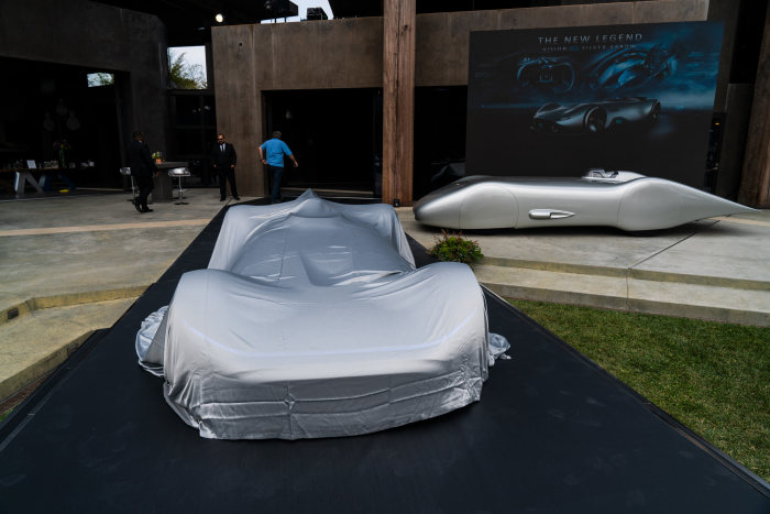 D524860 Mercedes Benz Showcar Vision EQ Silver Arrow, 2018