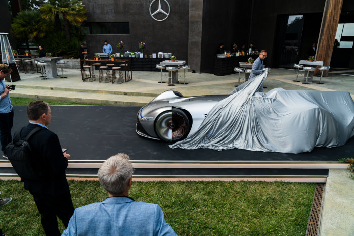D524864 Mercedes Benz Showcar Vision EQ Silver Arrow, 2018