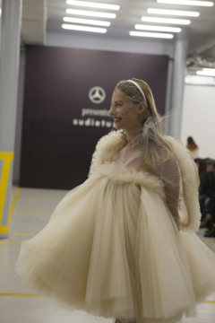 Impressions of the Sudi Etuz Show at the Mercedes-Benz Fashion Week Tibilisi