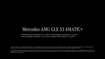 The new Mercedes-AMG GLE 53 4MATIC+