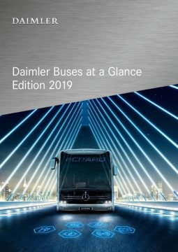 Daimler Buses at a Glance – Edition 2019