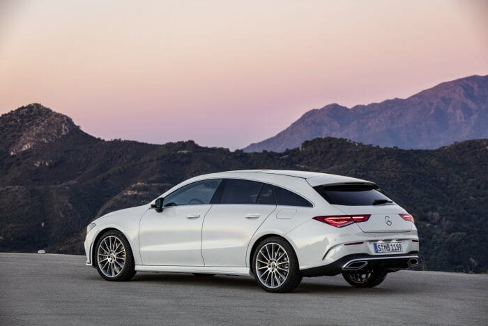Mercedes-Benz CLA Shooting Brake, X118, 2019, AMG-Line, Exterieur, digitalweiß