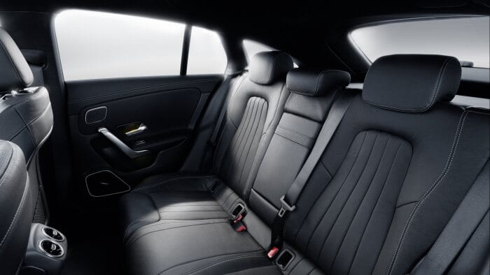 Mercedes-Benz CLA Shooting Brake, X118, 2019, Interieur, sonnengelb