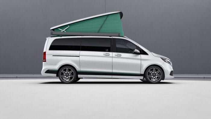 Special model series ArtVenture for Mercedes-Benz Marco Polo family