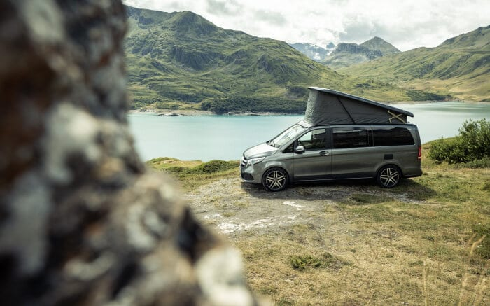 The new Mercedes-Benz Marco Polo – Exterior