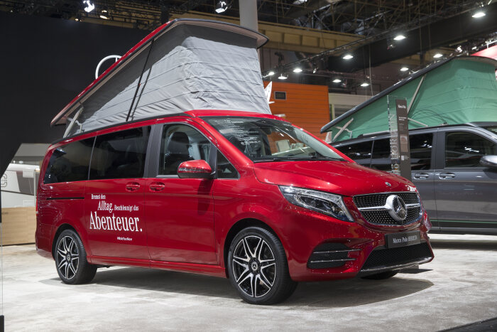 Mercedes-Benz Vans at the Caravan Salon Düsseldorf 2019 – in the picture: Mercedes-Benz Marco Polo HORIZON