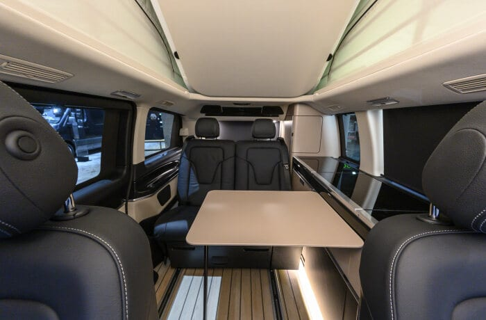 Mercedes-Benz Vans at the Caravan Salon Düsseldorf 2019 – in the picture: Mercedes-Benz Marco Polo ArtVenture special model series