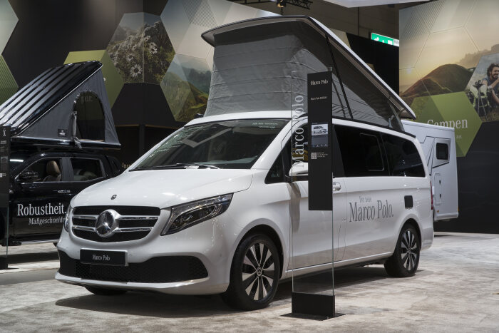 Mercedes-Benz Vans at the Caravan Salon Düsseldorf 2019 – in the picture: Mercedes-Benz Marco Polo