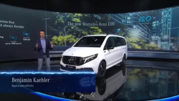 Mercedes-Benz EQV: World Premiere - Walk Around
