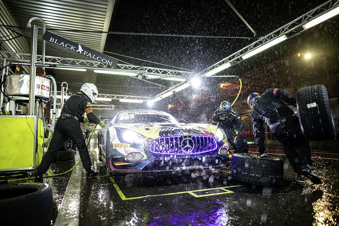 Mercedes-AMG GT3 #4, Mercedes-AMG Team BLACK FALCON, Total 24 Hours of Spa