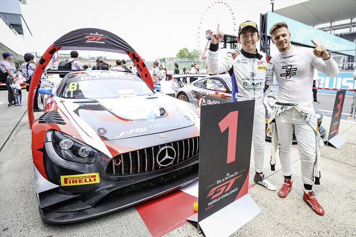 Jeffrey Lee (l.) und Alessio Picariello, Craft-Bamboo Racing, Blancpain GT World Challenge Asia