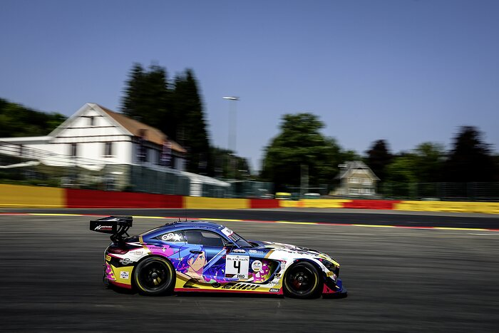 Mercedes-AMG GT3 #4, Mercedes-AMG Team BLACK FALCON, 24h Spa-Francorchamps 2019