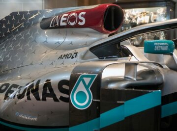 Mercedes-AMG Petronas Formula One Team, Livery Launch, INEOS Announcement