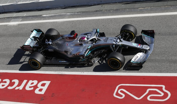 F1, Mercedes-AMG Petronas F1 Team, Lewis Hamilton, Tests, Barcelona