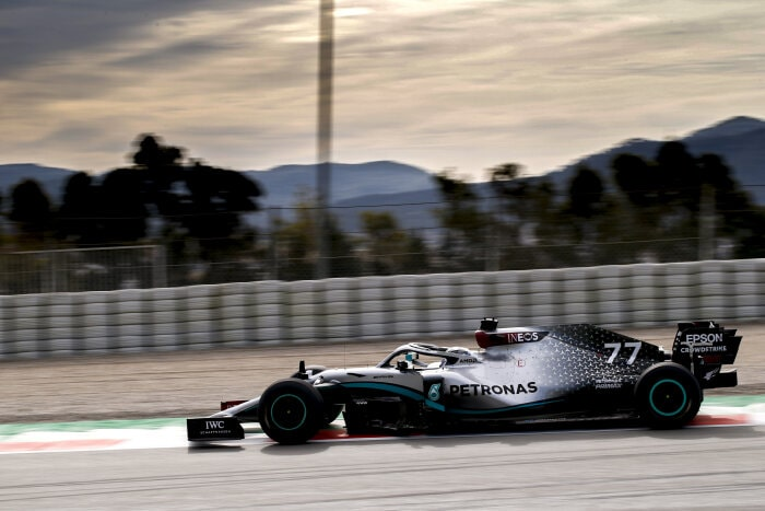 Formel 1 - Mercedes-AMG Petronas Motorsport, Wintertestfahrten 2020. Barcelona. F1. Tests. Valtteri Bottas
