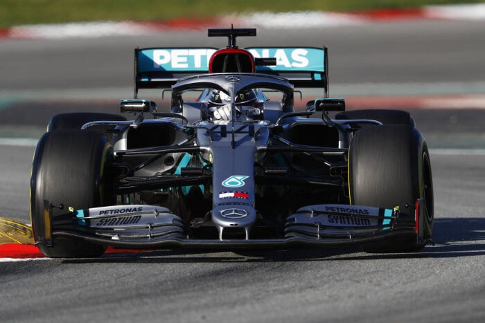 Formel 1 - Mercedes-AMG Petronas Motorsport, Wintertestfahrten 2020. Barcelona. F1. Tests. Lewis Hamilton