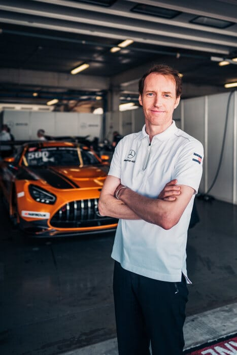 Thomas Jäger, Koordinator Mercedes-AMG Customer Racing
