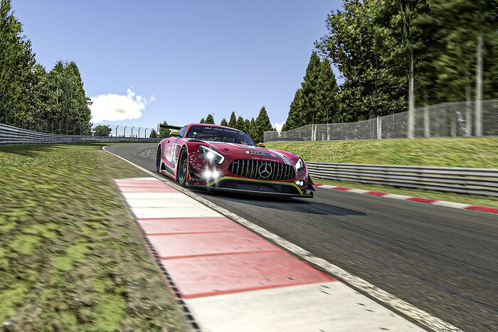 Vodafone Team GetSpeed, Mercedes-AMG GT3 #2, Digitale Nürburgring Langstrecken-Serie