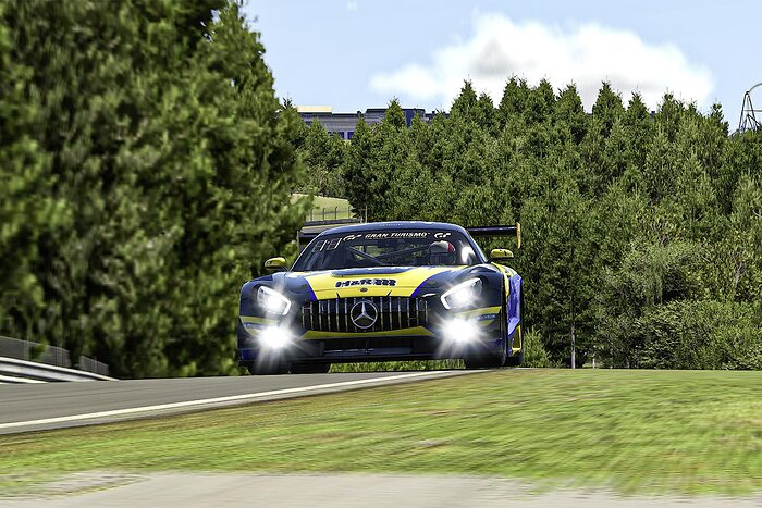 Adrenalin eMotorsport, Mercedes-AMG GT3 #122, Digitale Nürburgring Langstrecken-Serie